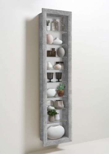 Siera Wall Mounted Cabinet Grey - 2974